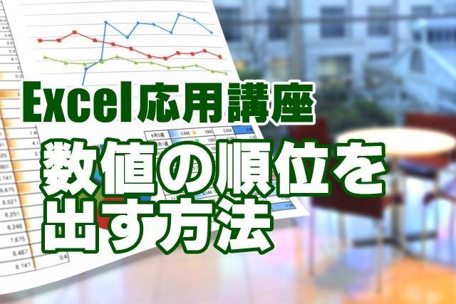 Excel エクセル RANK関数