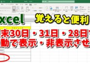 Excel エクセル IF関数 DAY関数